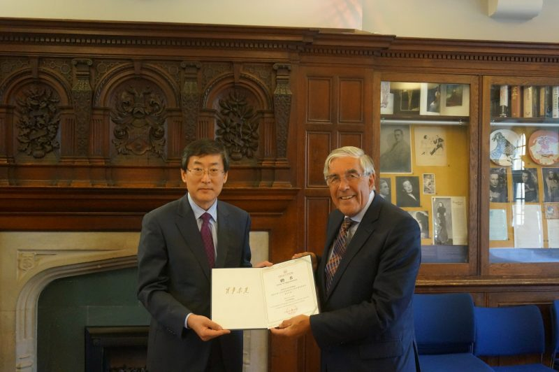 Han Dayuan and Lord Phillips CCL