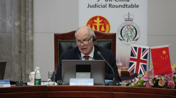 Lord Neuberger 3Rd Judicial Roundtable