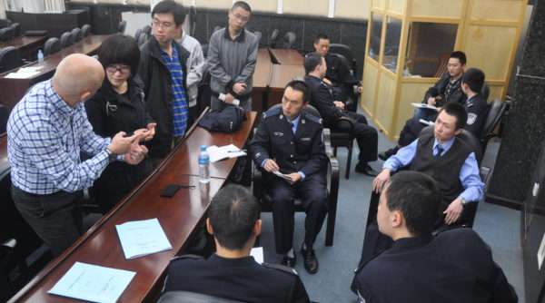 Strengthening Legal Defence Skills Police Training Chengdu Nov 2011