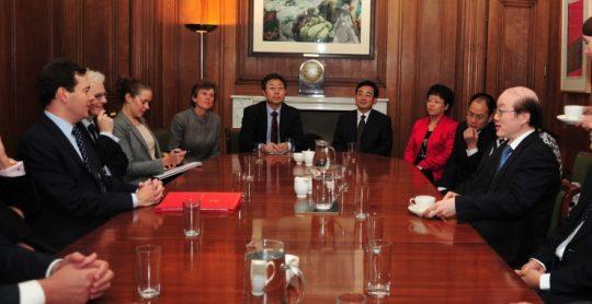 2011 Ukclf George Osborne Liu Jieyi