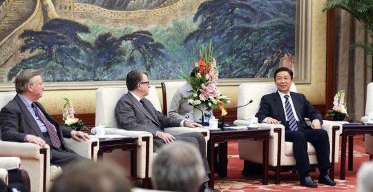 Clarke Mandelson And Li Yuanchao